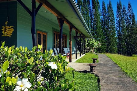 Deluxe suite on lush estate. - Hakalau - Bed & Breakfast