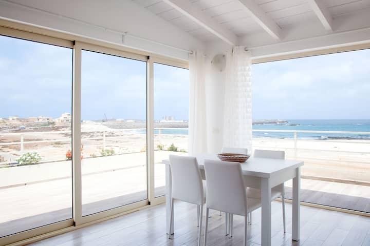 Amazing sea-view penthouse Praia Cabral, Boa Vista