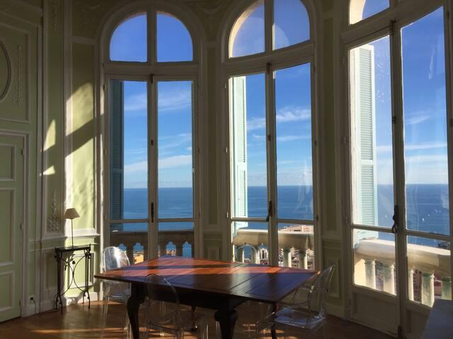 Riviera Palace, Monumento Storico. - Beausoleil - Huoneisto