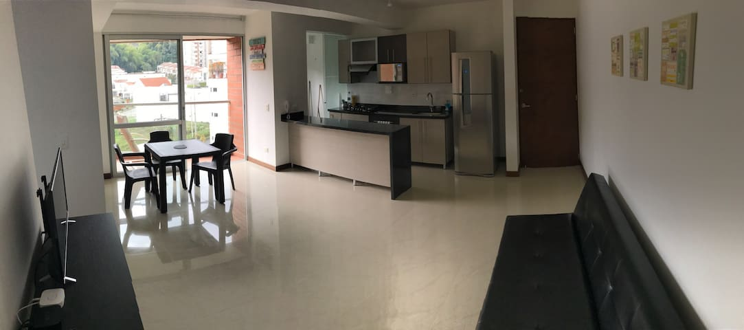 Apt. Pinares Campestre, WIFI/PARKING - Pereira - Appartement
