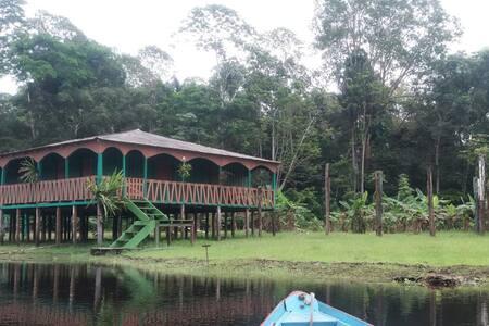 Pousada ecologico. Amazon Ariau Native House