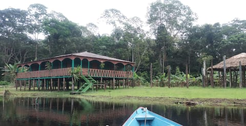 Pousada ecologico. Amazon Ariau Native House