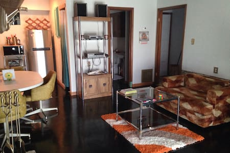 """Newly Listed Swanky """"Retro"""" Condo at Jacobs Well - Wimberley"""