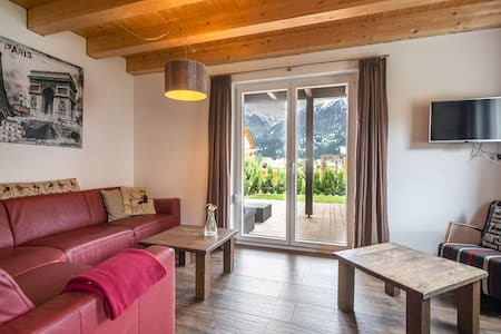 Lovely Chalet in Kötschach Mauthen with Terrace, Garden, BBQ