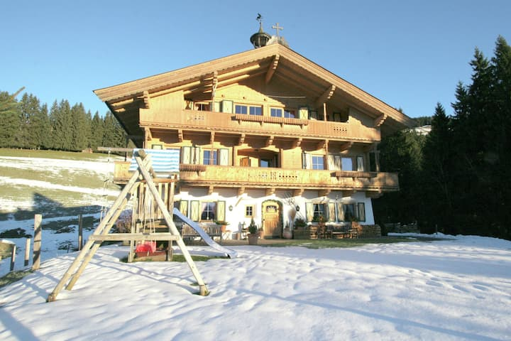 Beautiful Mansion in Kirchberg near Ski Area Kirchberg