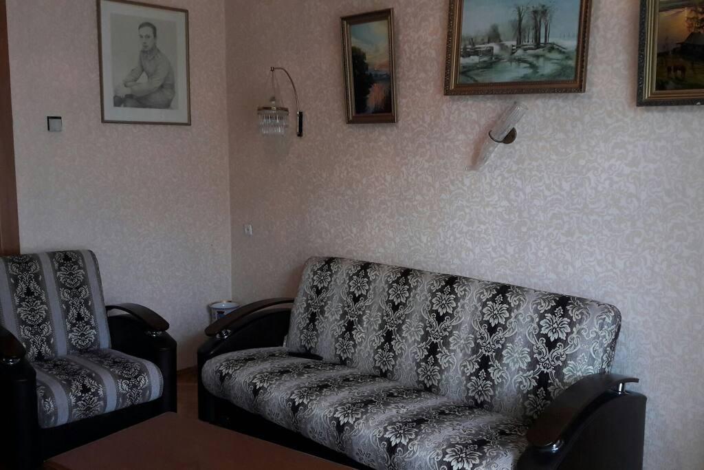 комната 1. Гостинная