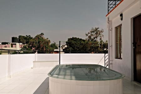 Krishna's Terrace:StudioRK with Terrace-BGLR South