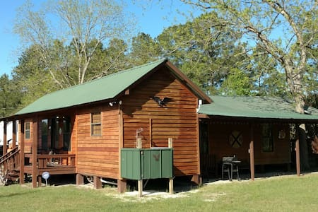 "Freeman Farm ""Love Shack"" Bunkhouse for 9 or 1. - Statesboro - Kisház"