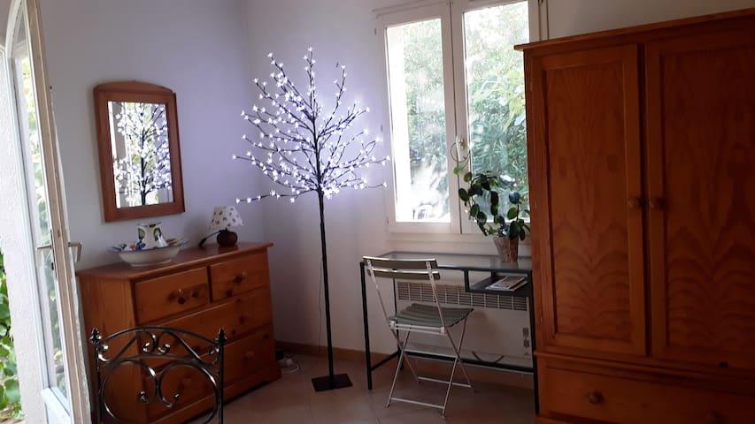 Joli studio avec jardin