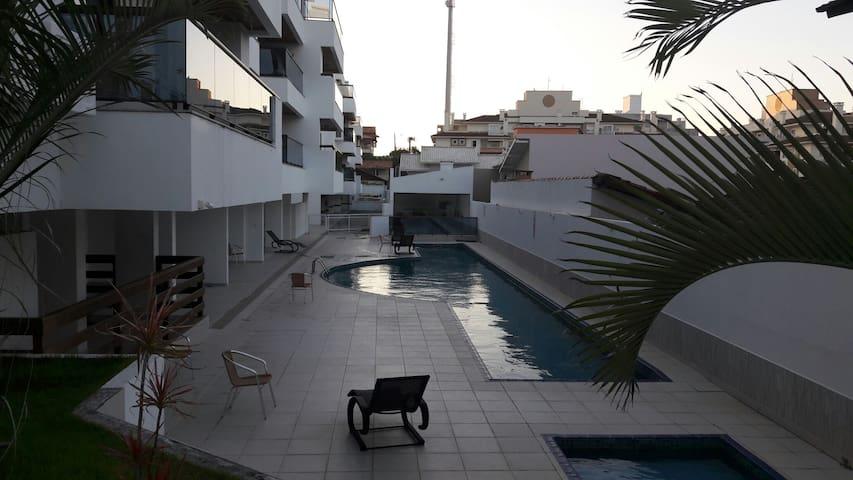 Lindo apartamento a 4 min da praia do Santinho. - Florianópolis  - Appartamento