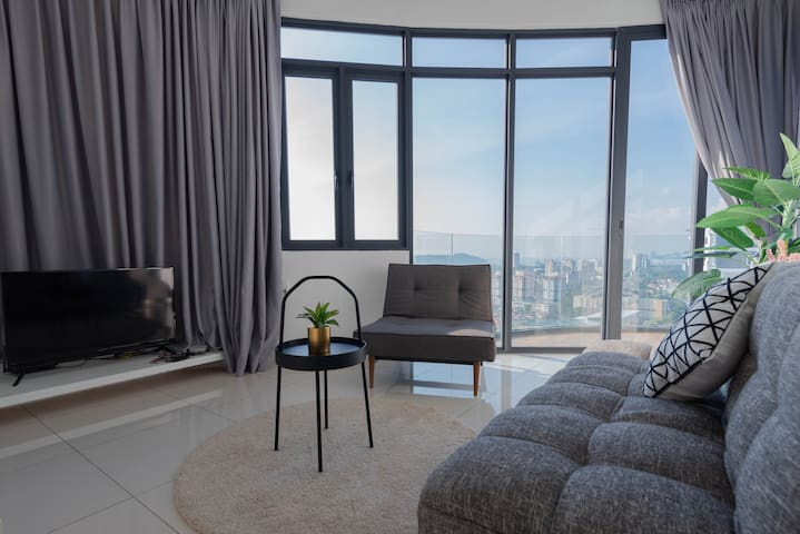 ♥Sunrise holiday home♥ Level 31 , 2BR2BA @日出无敌风景公寓