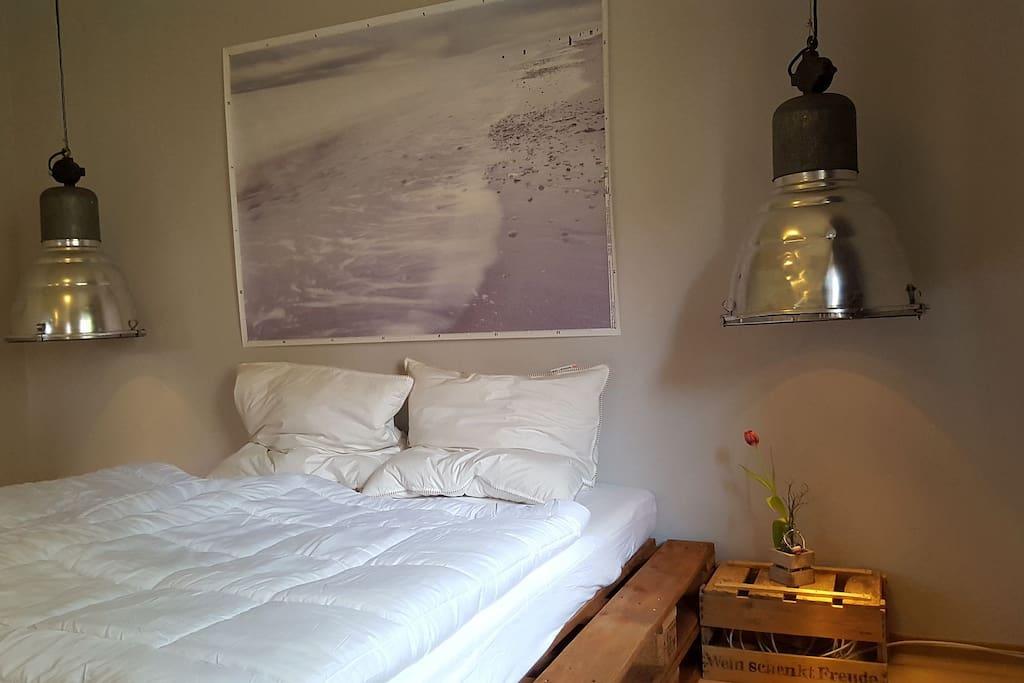 Industrielampen/ Schlafzimmer