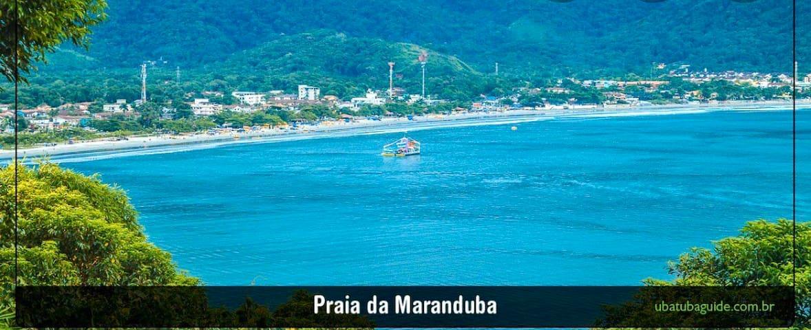 Apto na Praia de Ubatuba Maranduba!