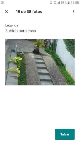 Escada degraus baixos