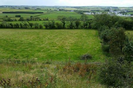 Rural field at giants causeway - bushmills - Barraca