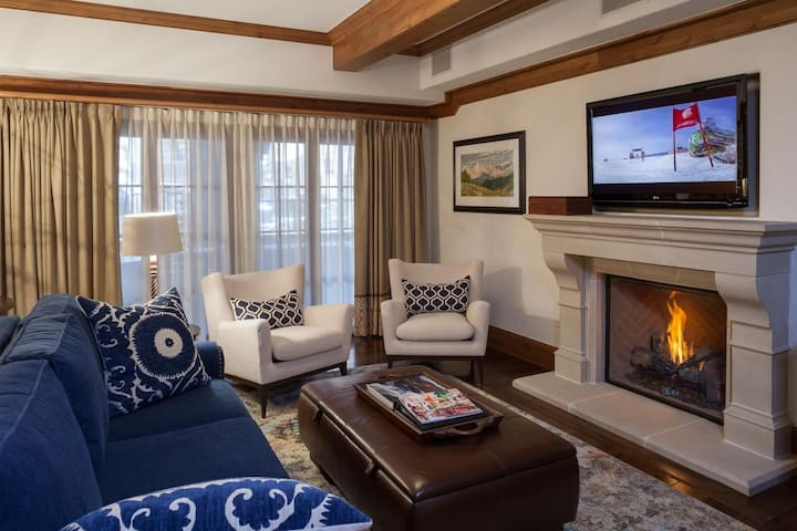 Willows 103: luxury two bedroom – premier location Vail Village
