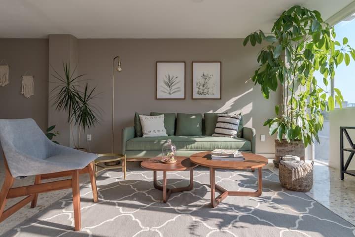 Darwin's Garden, New! Amazing Flat in Casa Quetzal