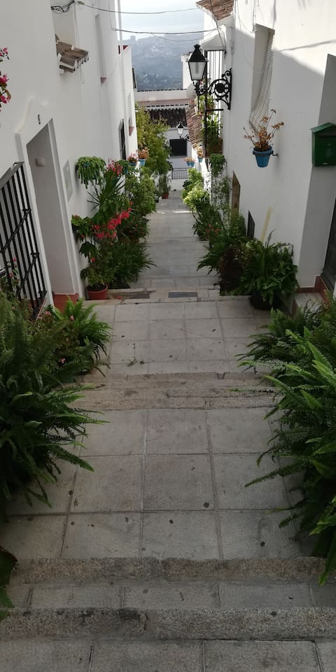 Andalusian charm leading through walkways around the village