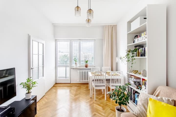 Cosy apartment by the Metro with amazing view!