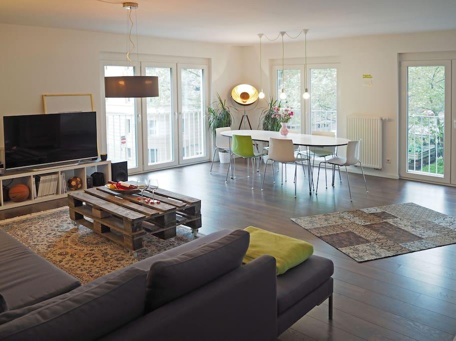 lovely luxurious apt in stuttgart apartments for rent in stuttgart baden w rttemberg germany. Black Bedroom Furniture Sets. Home Design Ideas