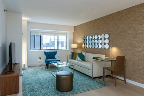 One Bedroom Apartment In Boston High Rise