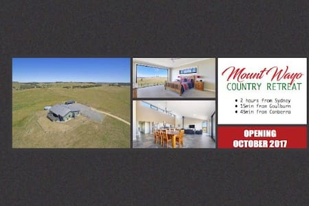 Mount Wayo Country Retreat - Goulburn - Ev