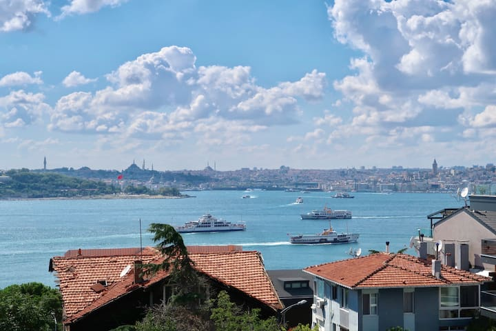 Flat with a View of Bosphorus and Topkapı Palace