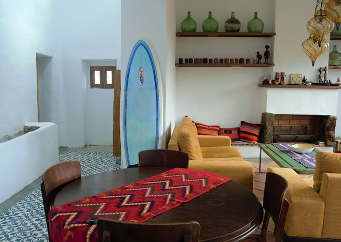 Riad Al Nassim....Room with double bed/shared home