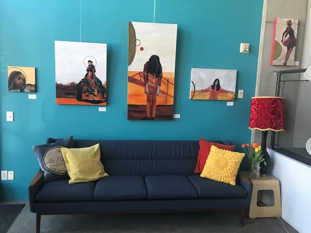 Loft 112: Calgary's literary/creative experience