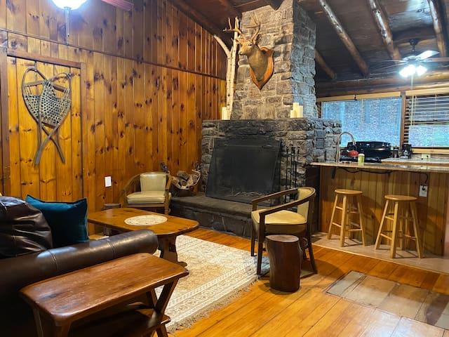 Log Cabin escape in Lake George