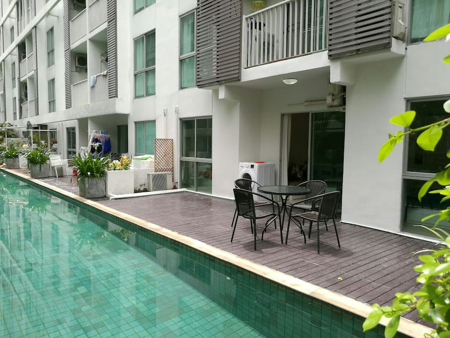 Your 16 sqm terrace.