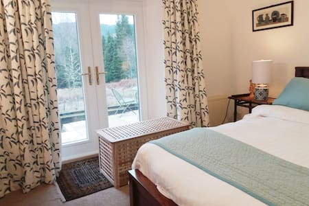Double room in the forest, Trossachs National Park