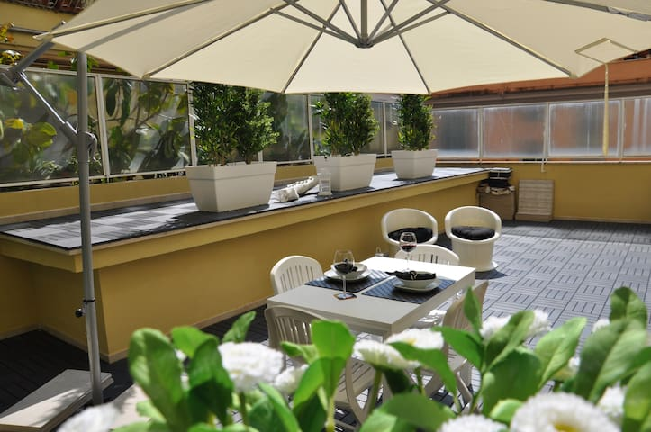 Maison Romana, appt w/terrace Rome