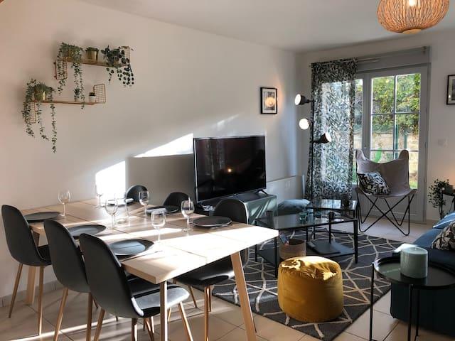 TEYO-Maison meublée 6 pers - Proche Roissy (60620)