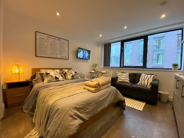 🌟Studio Apartment🌟 5 Mins Walk To Oxford Rd 🌟