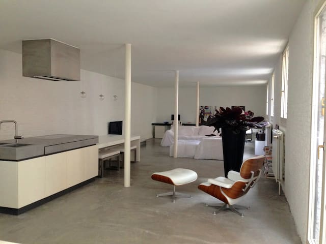 Beautiful LOFT Antwerp South - HEART of the city - Antwerpen - Loft