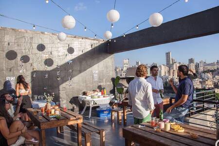 Panoramic Rooftop Loft with Terrace