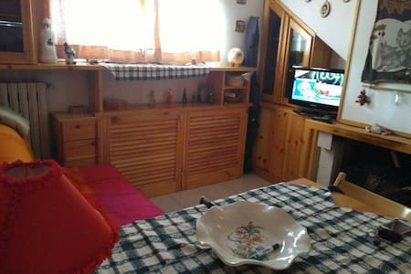 Mansarda/Appartamento centro Roccaraso panoramico - Roccaraso