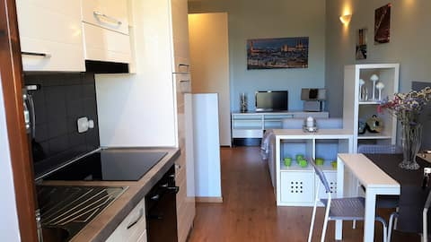 Studio apartment for 2 people + 1 between Florence and Arezzo