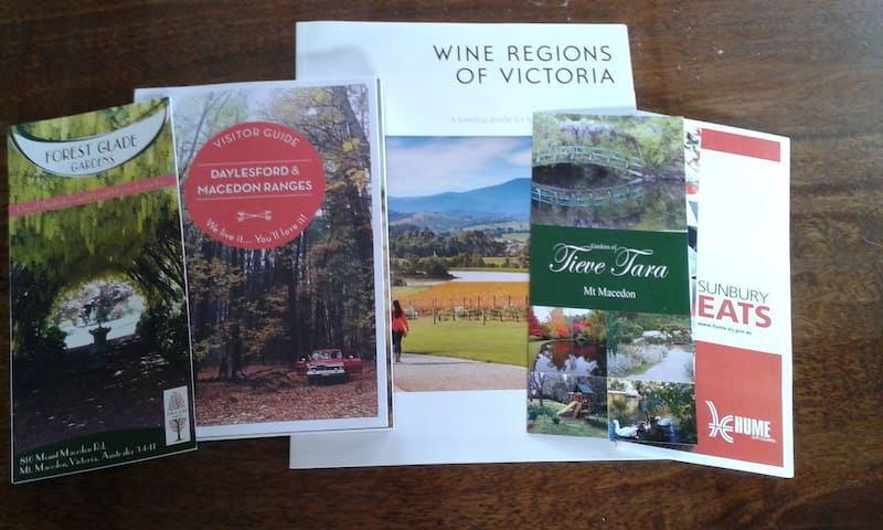 Wineries, Cafe's, Bike trails, Tours, and so much more...
