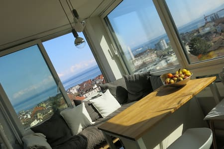 Apartment with a stunning view - Rorschach
