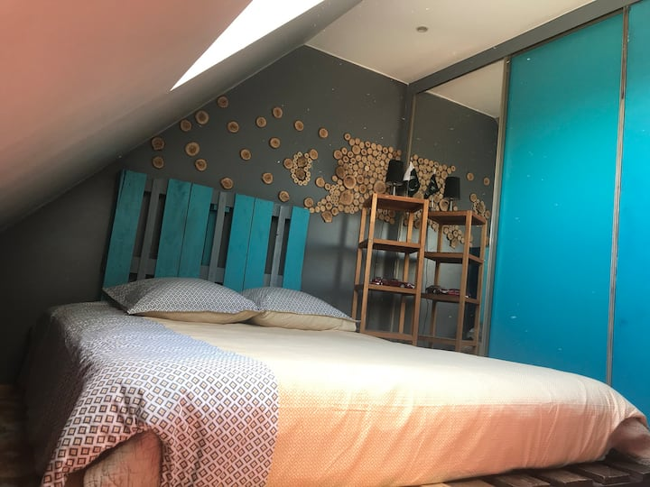 Belle chambre a proximité de Paris et Disney