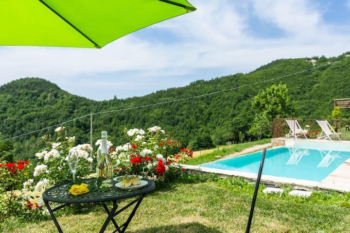 Apartamento de lujo en la Toscana con Piscina