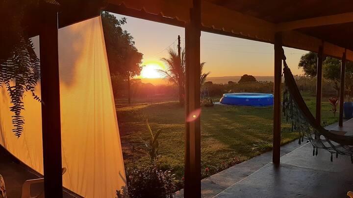 Rancho Paraíso NL! Paz e tranquilidade garantidos!