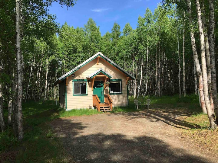 Talkeetna's Mount Dall Cottage with WiFi & laundry