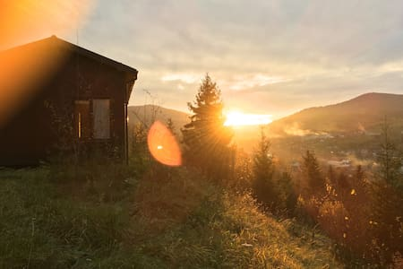 Дом для двоих с красивым видом - Slavs'ke - Dům