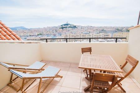 ☼ 2 pièces sous les toits ☼ - Marseille