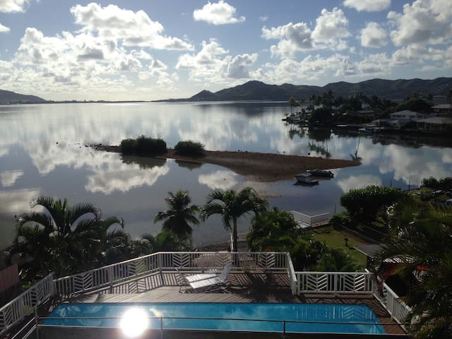 Spacious Waterfront with Gorgeous View & Pool