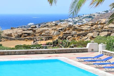 The Blue Horizon Villa ( strategically located) - Mikonos - House