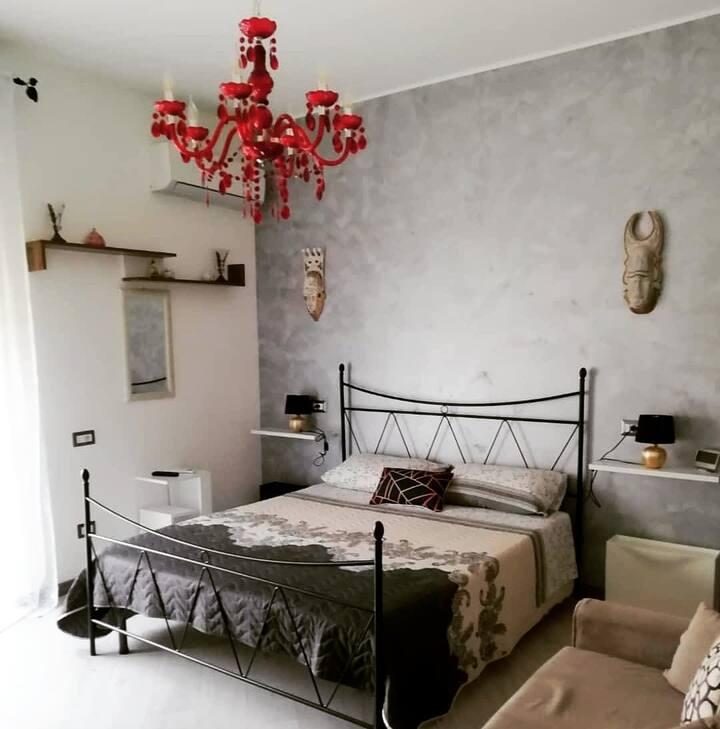 Mini loft in appartamento + balcone
